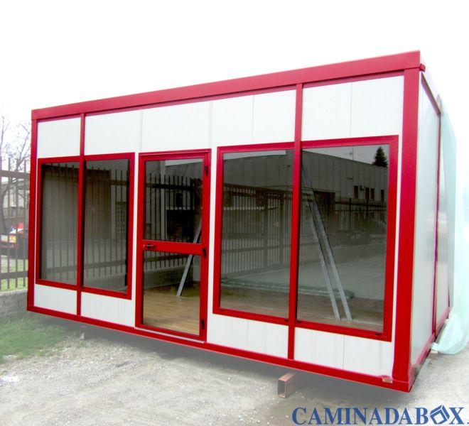 box prefabbricati per chiosco e negozi