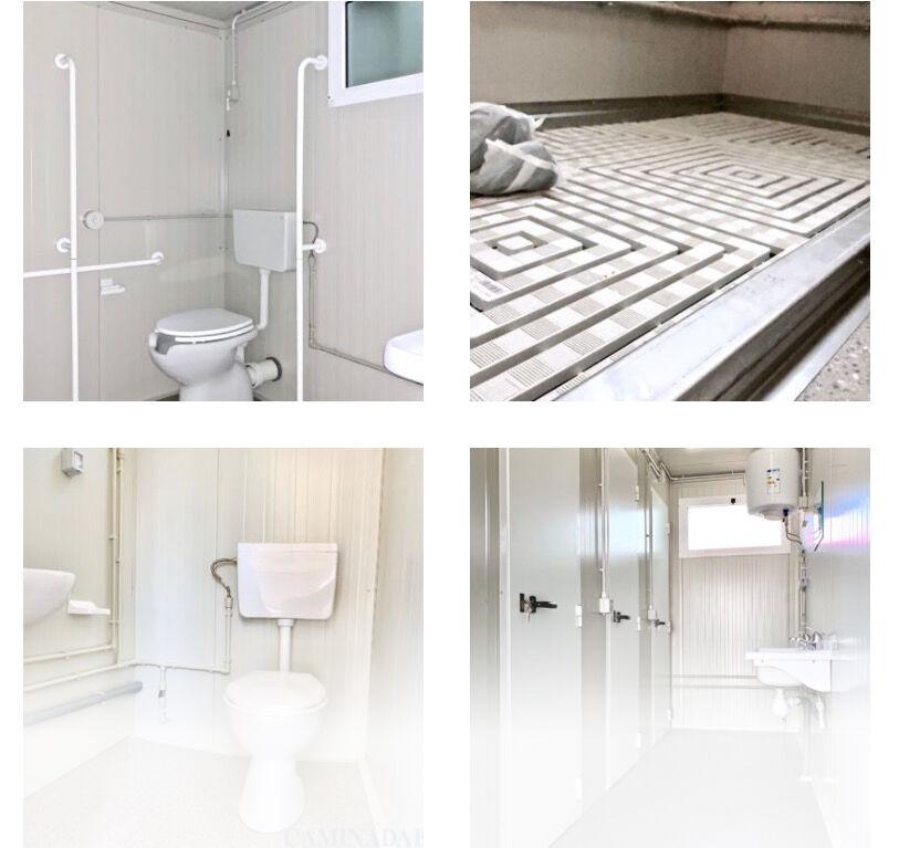 Box per Servizi Igienici: Interni