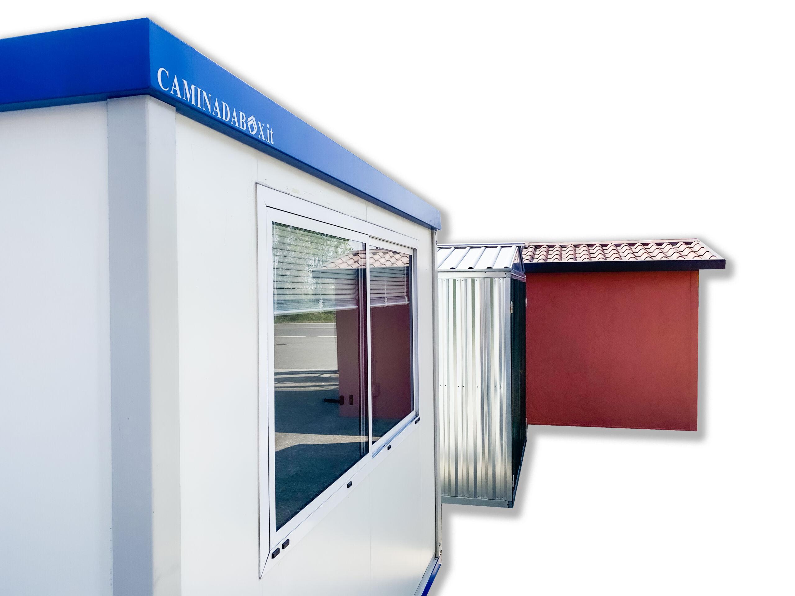 box ufficio prefabbricato