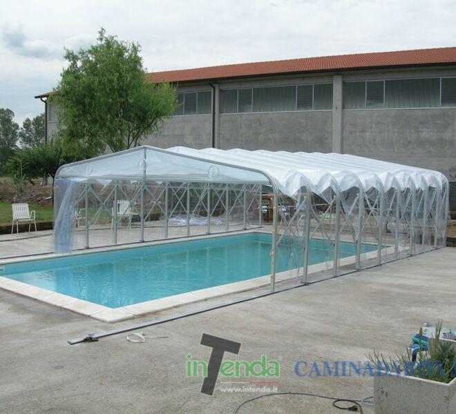 InTenda, copertura piscina
