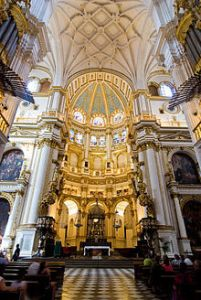 Interior Catedral de Granada