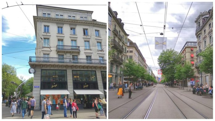 Banhofstrasse. Que ver en Zurich