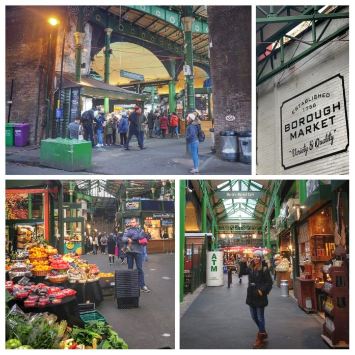 Borough market. Ruta Londres dos días