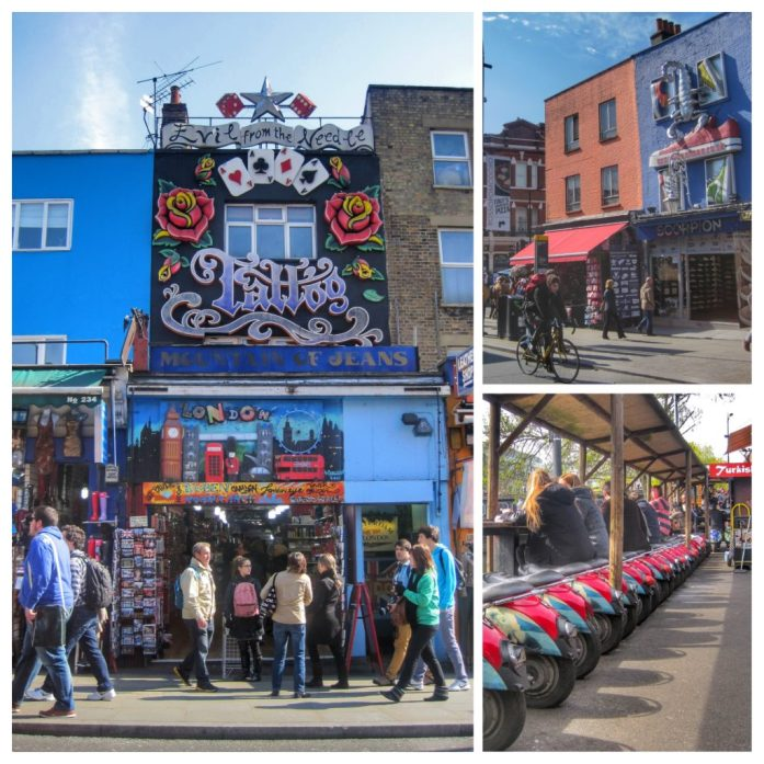 Camden market. Ruta Londres dos días