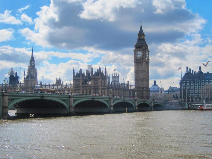 Parlamento de Londres. Ruta de dos días
