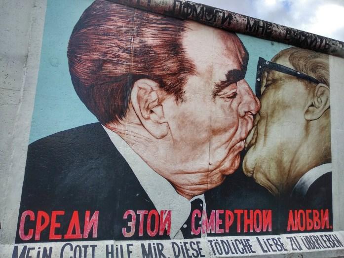 East Side Gallery. Berlín en un día