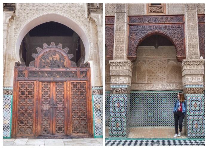 Que ver en Fez. Al Attarine Madrasa