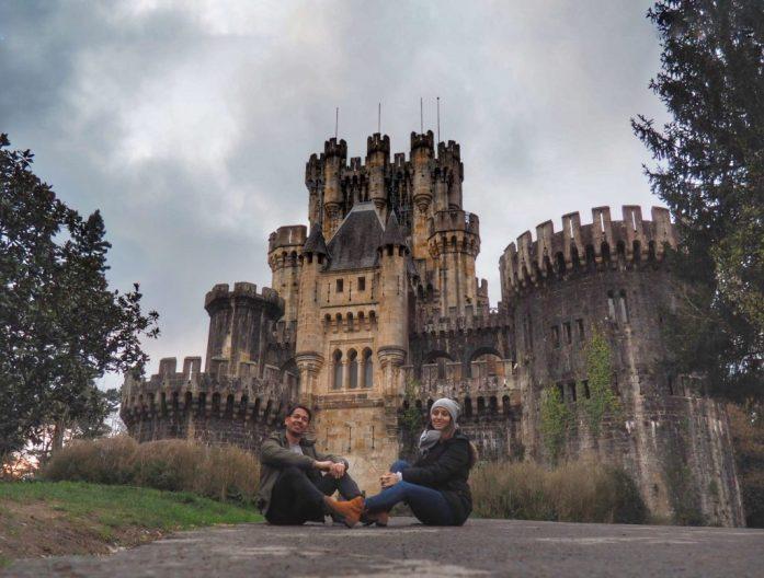 Pais Vasco ruta en coche en tres días. Castillo de Butrón