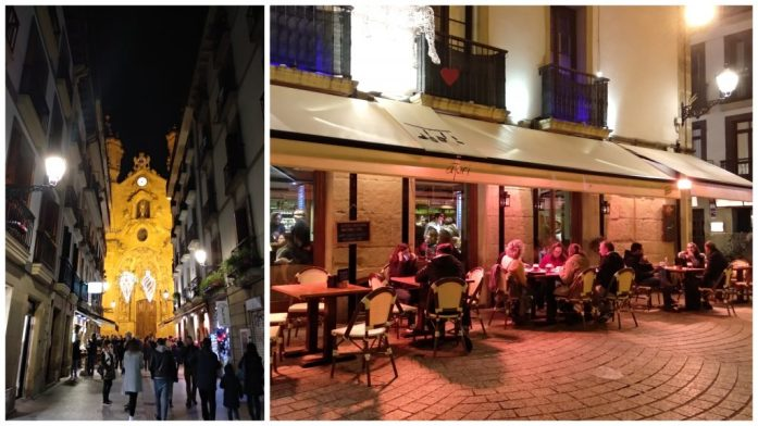 País Vasco en tres días. Casco Viejo San Sebastián