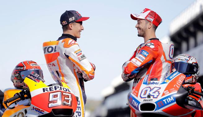 Márquez y Dovizioso se juegan el título