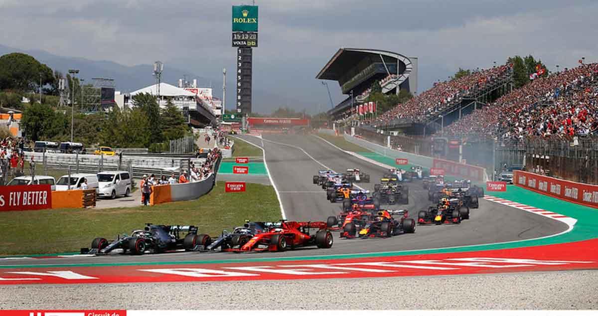calendario 2020 Circuit de Barcelona-Catalunya