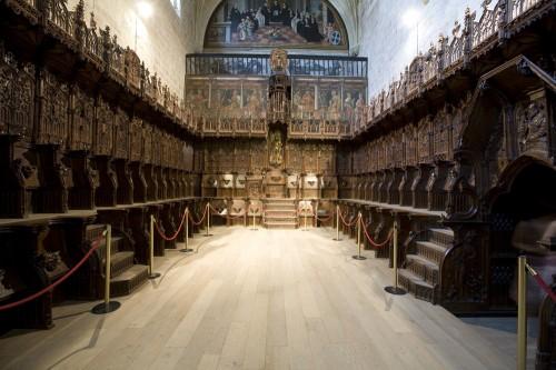 El coro fue realizada entre los años 1493 y 1495