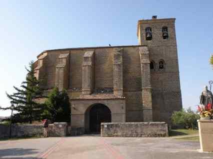 Cirauqui - Villamajor de Monjardin 01 Villatuerta 01 church