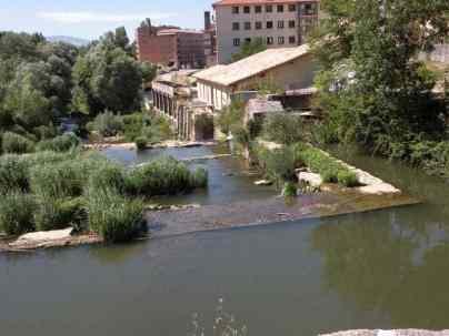 Larrasoana - Cizur Minor 18 Iroz 04 river