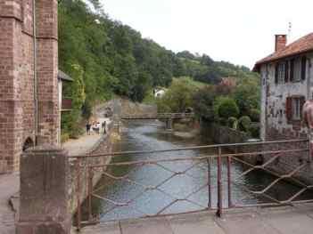 St. Jean PP 15 river beside leaving gate
