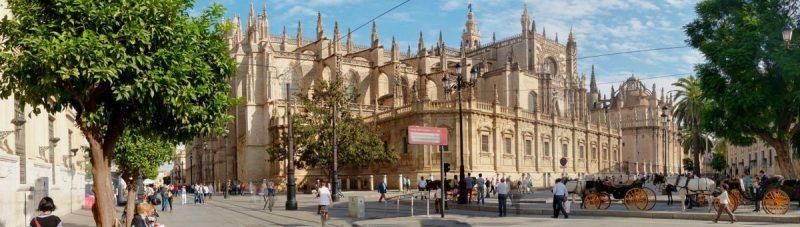Seville the start of the Via de la Plata