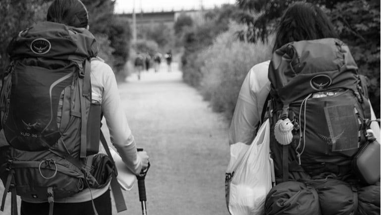 Spain hikers