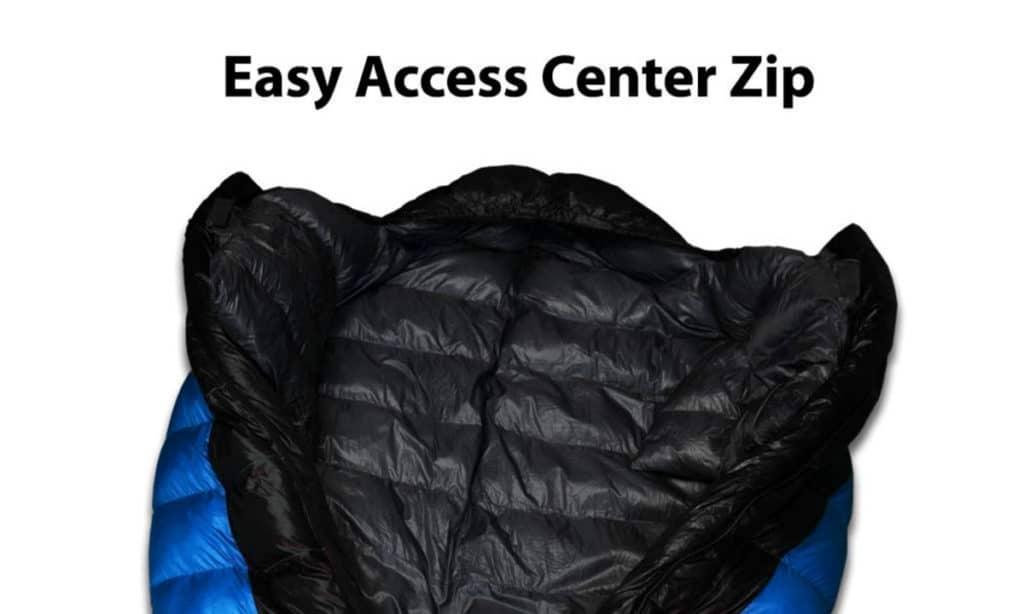 Outdoor Vitals Atlas 0°F - 15°F - 30°F Lightweight Sleeping Bag with Compression Sack, LoftTek Mummy Bag, Down Sleeping Bag
