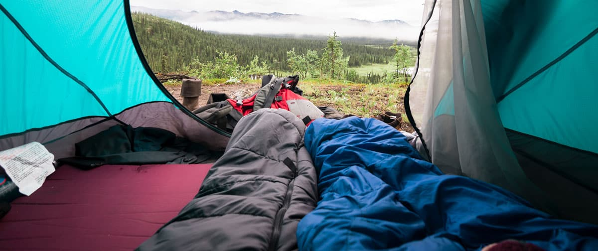 best backpacking sleeping bag for under $100