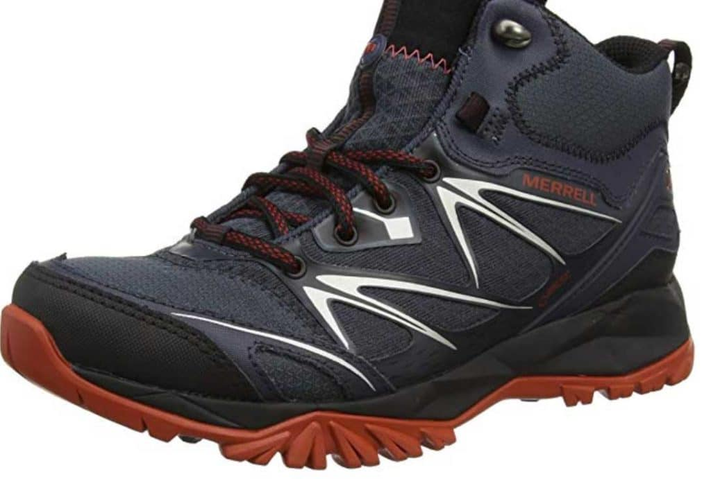 Merrell Men's Capra Bolt Mid GTX High Rise Hiking Boots