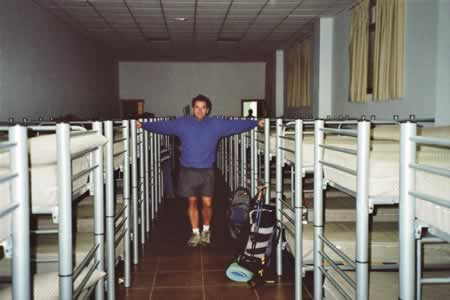 Leslie and bunk beds