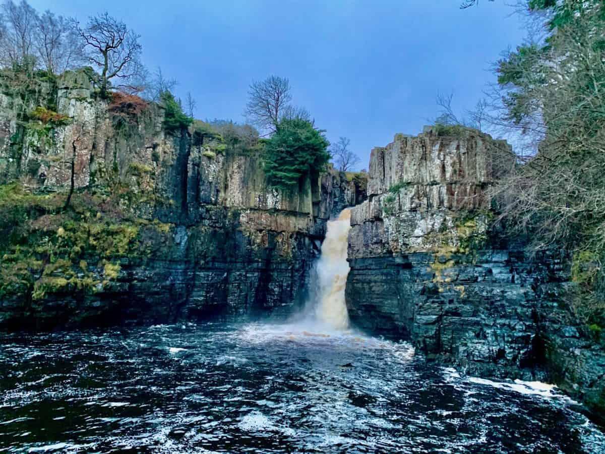 Waterfall along the Pennine Way
