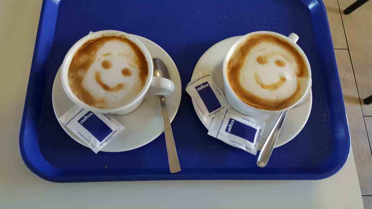 Coffee in Santiago