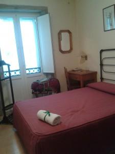 Mit værelse på Hotel Real.