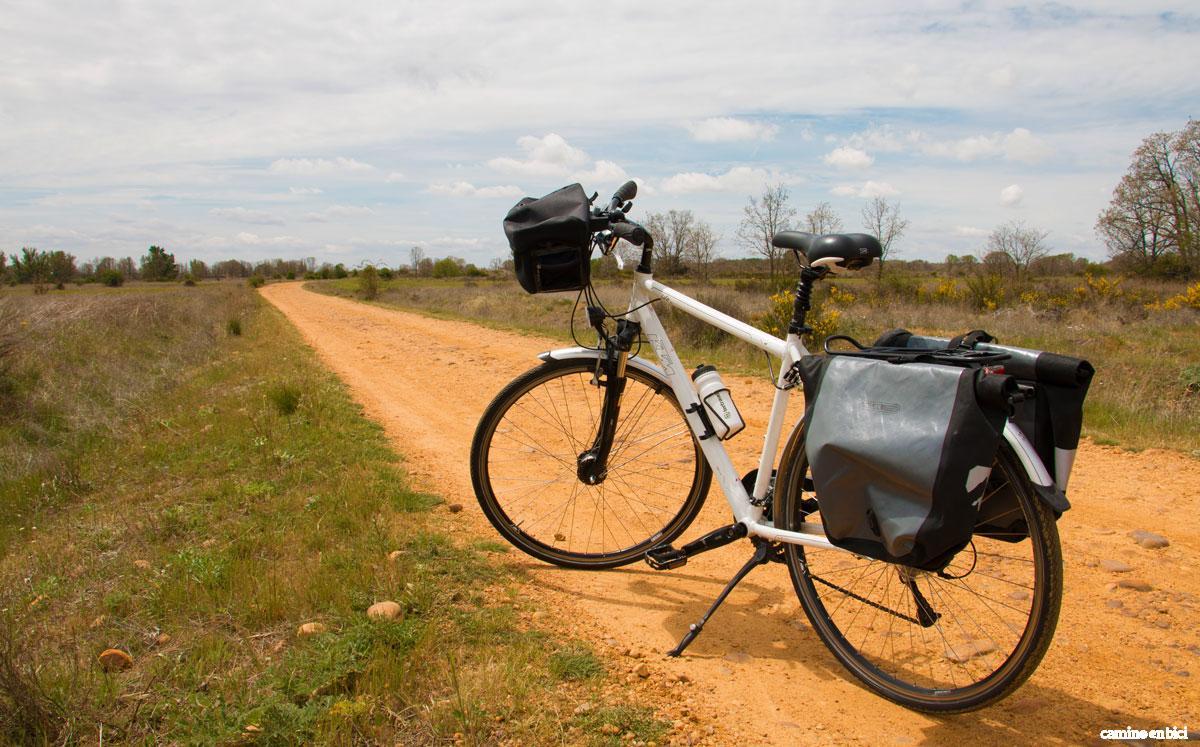 Camino en Bici