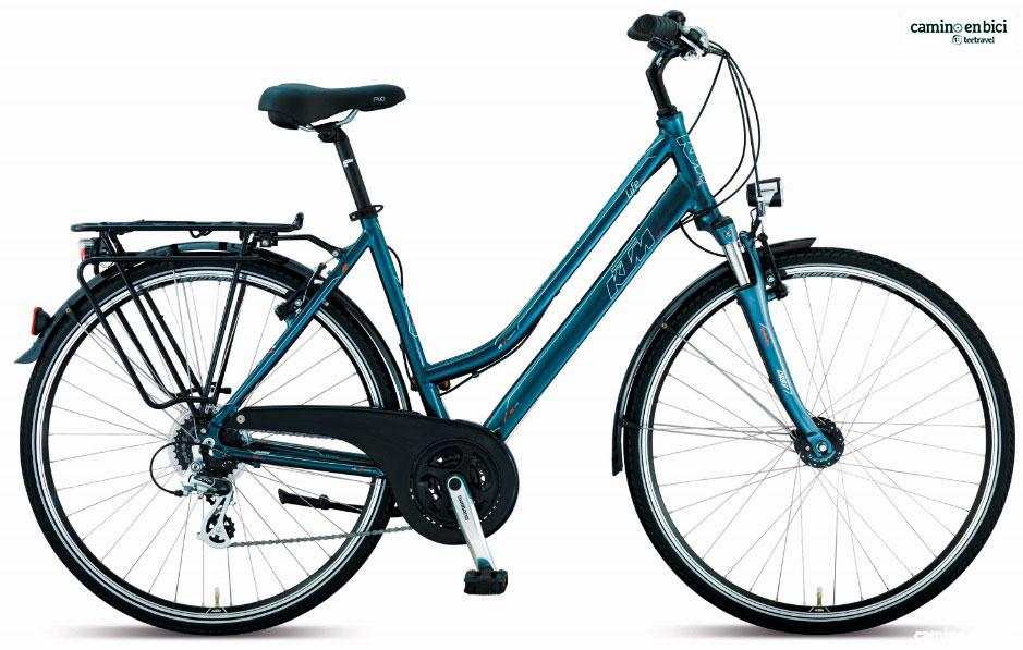 Camino en Bici - Bicicleta Life Joy