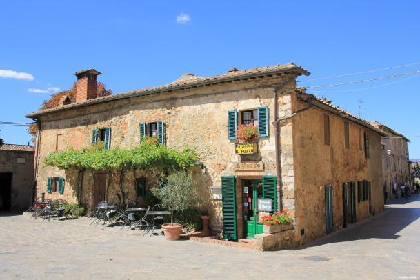 Los pueblos más bonitos de la Toscana-Monterrigioni