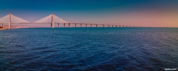 El Camino de Santiago Portugués de Lisboa a Porto (I) - Ponte Vasco de Gama