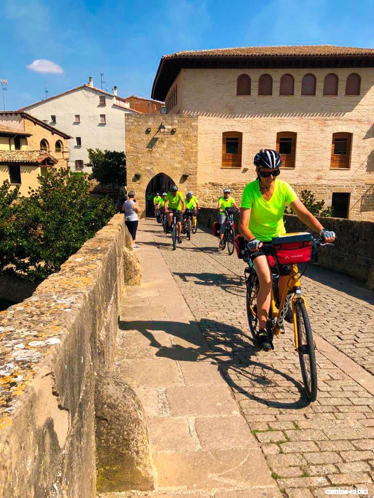 Puente la Reina - Camino Francés en Bici