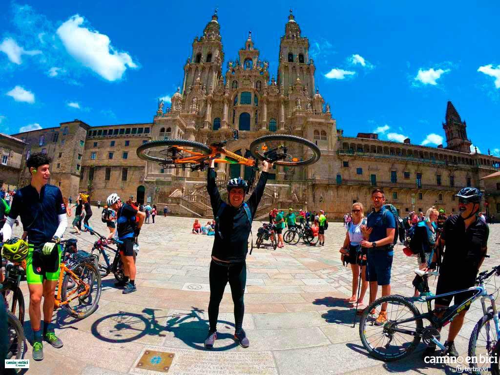 Camino Francés en Bicicleta - Catedral de Santiago de Compostela