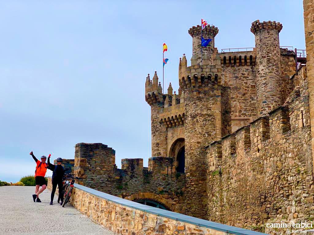 Camino de Santiago Francés - Ponferrada - Castillo de los Templarios