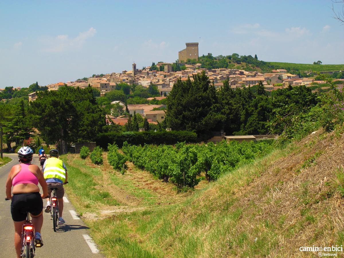 Ruta en bicicleta por la Provenza Francesa