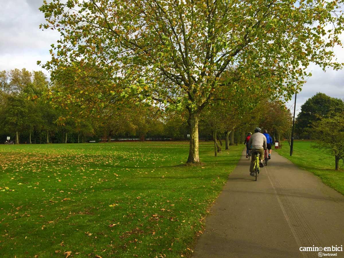 Ruta en Bicicleta - Avenida Verde: París-Londres - Wimbledon