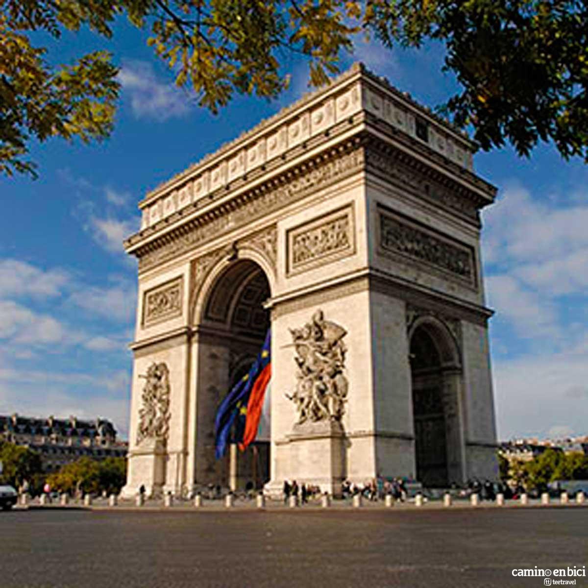 Francia - París - Arco del Triunfo