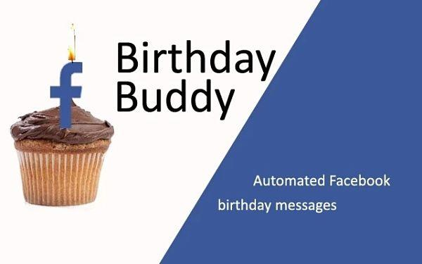 Enviar felicitaciones de cumpleaño automáticamente en Facebook