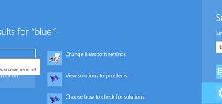 Activando Bluetooth en Windows 8
