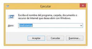 Dónde está ubicada la carpeta de Inicio en Windows 8/8.1