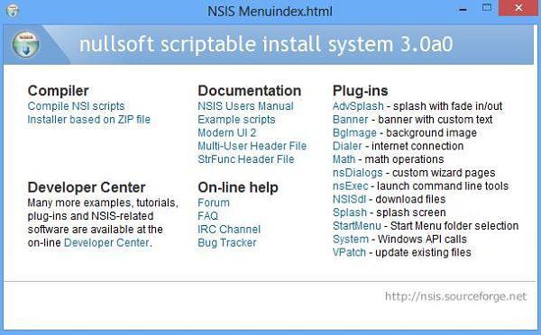 Nullsoft NSIS Installer, utilidades para crear instaladores o paquetes de instalación