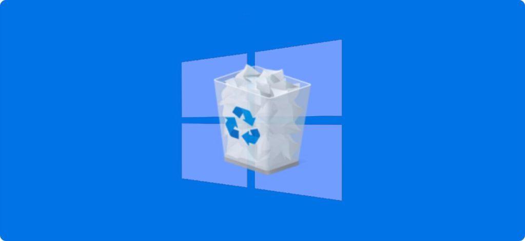 Cambiar de nombre y el icono a la Papelera de reciclaje