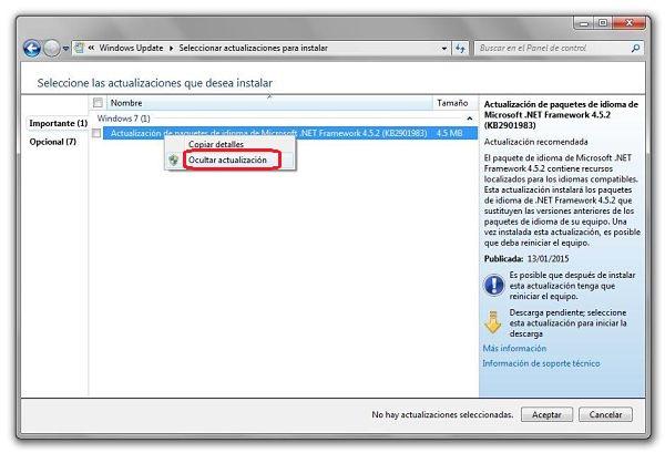 Cómo solucionar error 80070103 de Windows Update