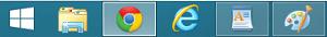 Cambie la forma de ver la barra de tareas en Windows 8.1