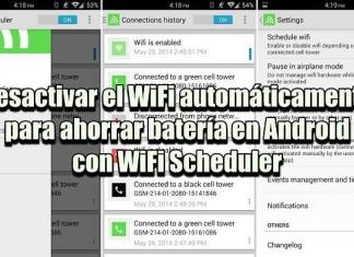 WiFi Scheduler: Apagar WiFi automáticamente y ahorrar batería en Android
