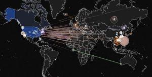 IPViking, Mapa Mundial de Ciberataques DDoS en Tiempo Real