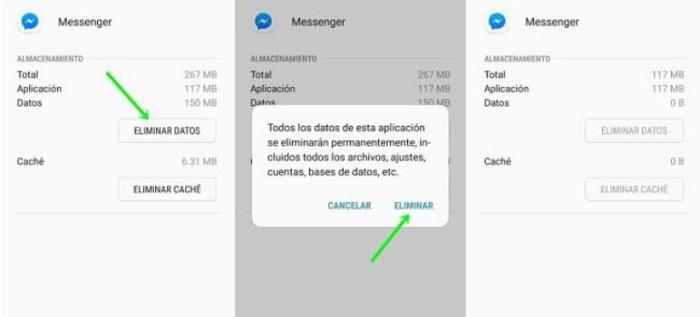 Desactivar Messenger en tu celular Android