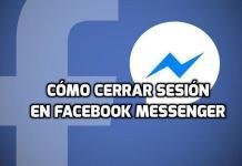 Cómo cerrar sesión en Messenger