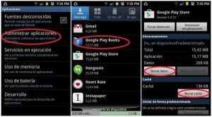 Cómo solucionar el error 498 de Google Play Store